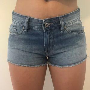 Diesel Low Rise Denim Shorts
